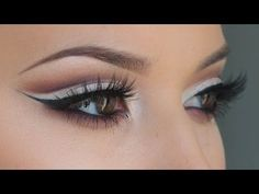 Finally - someone who does a decent cut crease. Due to hooded lids, I always have to do my eyes like this, bit this is by far the best tutorial I've seen yet.