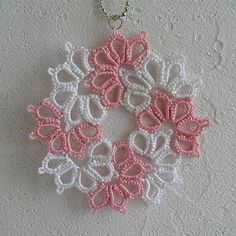 Tatted Lace pendant