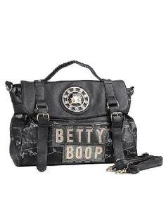 BLACK SILVER BETTY BOOP BAG  30.00 Fashion Handbags 3fb5c5a697aaa