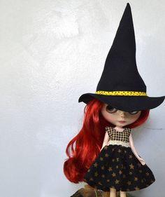 Blythe outfit Blythe Halloween outfit Blythe Halloween dress