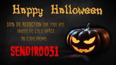 Bénéficiez de 10% de réduction sur tous vos envois de colis pour Halloween! Les meilleurs tarifs d'envoi en France et à l'international, par Sendiroo.