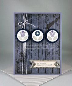 Weathered Wood Blossoms by cindy_canada - Cards and Paper Crafts at Splitcoaststampers