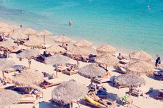elia beach, mykonos by gray malin