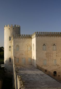 This could be Castello Forelli (Castello di Donnafugata, Ragusa, Sicily)