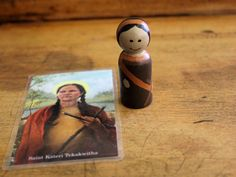 Individual Saints: St. Lucy Kateri Tekakwitha by PrayWithTheSaints