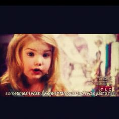 The wise words of Eden Wood. She's adorable!