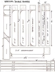 murphy bed hardware kit and plans