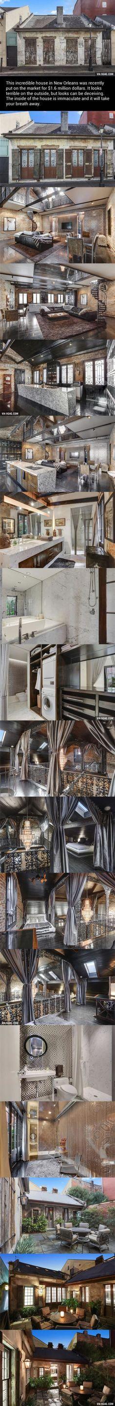 미국 뉴올리언즈의 허름한 집한채.jpg | 인스티즈