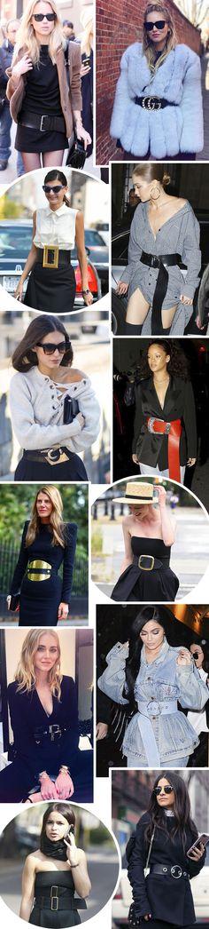 MAXI CINTOS: Os cintos ganharam um novo ... - FashionBreak