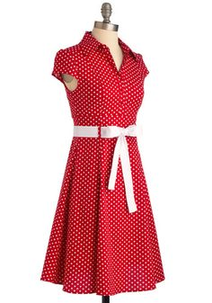 Hepcat Dress in Cherry at Modcloth. Currently sold out so hopefully they'll restock. $50 isn't too bad.