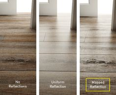 You want have really wood floor in your rendering but you also questions about reflection maps. All will be reply by the tutorial from Ciro...