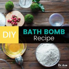 Many store bought bath bombs provide an explosion of harmful chemicals to your body. Thankfully Dr. Axe provides a way to make your own healthy ones.