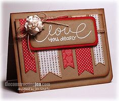 Beautiful card by Deconstructing Jen - look at her website truly inspirational
