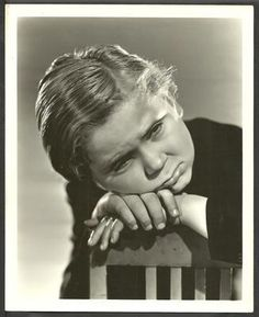 Our Gang Child Actor Jackie Cooper Original Clarence Bull 1932 Portrait Photo