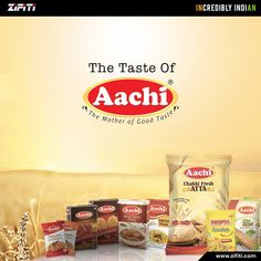 Try out India's leading High Quality Food & Organic Masala by #Aachi. Explore the products
