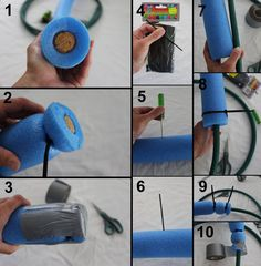 This DIY sprinkler is easy to make using easily sourced materials, it's also lightweight and soft - making it perfect for kids to play with or to attach to a . Backyard Water Parks, Backyard Play, Outdoor Games For Kids, Fun Activities For Kids, Outdoor Play, Fun Games, Outdoor Activities, Diy For Kids, Crafts For Kids