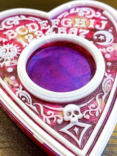 Excited to share this item from my #etsy shop: Rose and white Planchette tea light holder