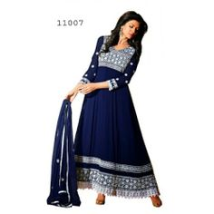Color : Navy Blue Collection : SS1007 Sku Code : Sus11007 Top Fabric : Semi Georgette Bottom Fabric : Santoon Dupatta Fabric : Nazneen Season: Any Style: Semi Stitched Anarkali Suits Occasion: Traditional Wear, Causal wear, Ethnic wear, All Festival, Party wear Time to Ship: Ready To Shi
