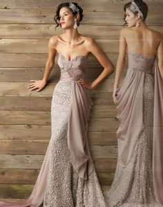 Cappuccino couture dress by MacDuggal