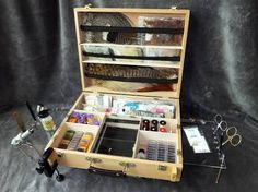 Image result for fly tying desk box
