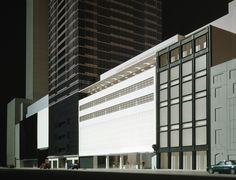 MoMA : Competition model by Yoshio Taniguchi   Image © Jock Pottle