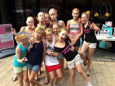 Gezellige, spontane actie van de dames van dansschool Marijke uit Bedum!