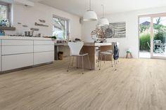 534234 Disano Life by Haro Designboden Eiche Columbia Grau Landhausdiele XL strukturiert mit 4V Fase