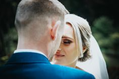A newlywed bride and groom at their wedding photography session at Denzel Gardens in Altrincham, Manchester ♡ Photography Ideas, Wedding Photography, Altrincham, Close Up Portraits, Newlyweds, Wedding Season, Weddingideas, Manchester, Woods
