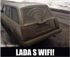 Lada s wifi!