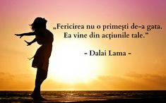 Citate despre fericire care te fac să zâmbești! Aceste citate despre fericire ne exprimă cel mai bine cum să înțelegem viața și bucuria ei! Pilates, Wise Words, Positive Quotes, Affirmations, Meditation, Positivity, Albert Camus, Messages, Roman