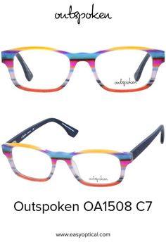 OUTSPOKEN OA1508 C7 Eyewear, Glasses, Easy, Men, Style, Swag, Eyeglasses, Eyeglasses, Guys