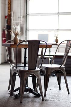 fantastic tolix dining chairs