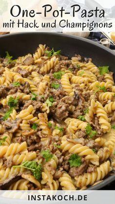 Food N, Food And Drink, Capellini, One Pot Pasta, One Pot Spaghetti, Western Diet, Cast Iron Recipes, Zucchini Pasta, Cheesy Potatoes