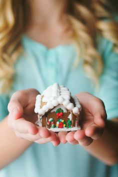 Giving Hands ~ Gingerbread House ~ Christmas Christmas Gingerbread House, Christmas Cookies, Christmas Houses, Gingerbread Houses, Merry Christmas To You, Christmas Time, Giving Hands, Gingerbread Decorations, Yule