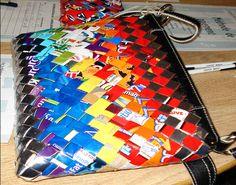 Candywrapper purse