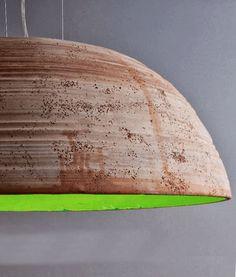 Bespoke Italian Galestro Clay Pendant in Four Sizes