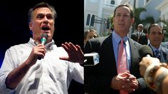 Mitt Romney, left, and Rick Santorum are shown campaigning in Puerto Rico. Puerto Rico, Campaign, Fox, News, Puerto Ricans, Foxes, Red Fox