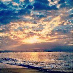 Shimmering sunsets in Santa Barbara!