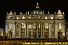 "Papal Basilica of Saint Peter Vatican - Sankt Peter im Vatikan - Rom (from <a href=""http://digitalfoto-welt.de/picture.php?/69/category/4"">Rainer Kaufhold - digitalfoto-welt.de - digital photo world</a>)"