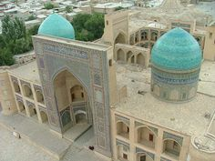 Mir-i-Arab Madrassa from the Kalyan Minaret by Alan Cordova on Flickr.