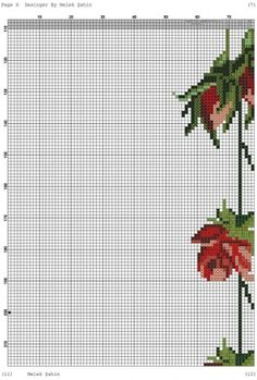 Prayer Rug, Embroidery Stitches, Cross Stitch, Floral, Flowers, Cross Stitch Embroidery, Roses, Dots, Embroidery