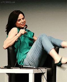 Lana Parrilla at FT4 Con in Paris. June 18, 2016