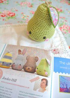 Sew Sweet Violet ..... Crochet pears!