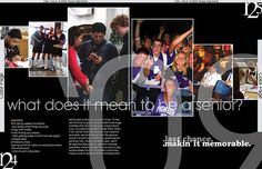 The layout and pictures look nice and signify family and community -caro Teaching Yearbook, Yearbook Staff, Yearbook Pages, Yearbook Covers, Yearbook Spreads, High School Yearbook, Yearbook Theme, Yearbook Design Layout, Yearbook Layouts