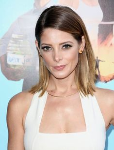 Ashley Greene's ombre lob.