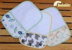 Babitas / toalliitas para bebé, pack x 6 unidades