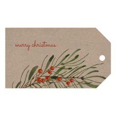 Christmas Greenery, Elegant Christmas, Handmade Gift Tags, Personalized Gift Tags, Christmas Paper Crafts, Diy Christmas Tags, Art Christmas Cards, Painted Christmas Cards, Watercolor Christmas Cards