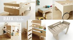 Funny bed for boys and girls.
