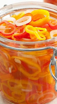 Pickled Sweet Peppers