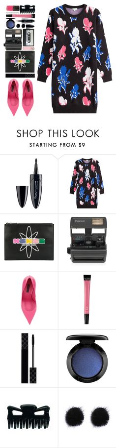 """#1046 Rosa"" by blueberrylexie ❤ liked on Polyvore featuring Maybelline, Kenzo, Impossible, Dolce&Gabbana, Victoria's Secret, Gucci, MAC Cosmetics and LVX"